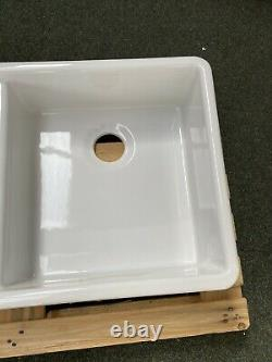 1000mm Huge Double Bowl Belfast Butler Sink British Made New RRP £691
