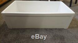 840x460x260mm No Overflow Single Bowl Belfast Style Ceramic Kitchen Sink