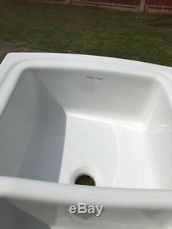 Armitage Shanks Ceramic 1.5 Bowl White Reversible Kitchen Sink Unused