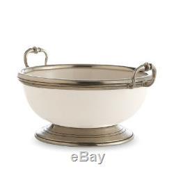 Arte Italica Tuscan Piccola Bowl, White P5106M