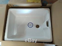 Belfast Sink Bowl White Fire Clay Ceramic 595 x 455mm SNK1022/30