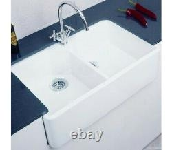 Caple GOSINK10 Double Bowl Gourmet Sink 800 And Wastes
