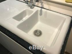 Carron Phoenix Shonelle 150 1.5 Bowl Ceramic Kitchen Sink