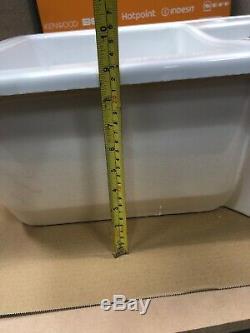 Ceramic 1.5 Bowl Kitchen Sink White HW171125