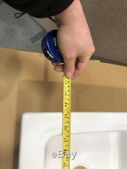 Ceramic 1.5 Bowl Kitchen Sink White HW171802