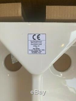 Ceramic Belfast Kitchen Sink 2.0 Bowl 800mm L x 500mm