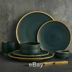 Ceramic Tableware Cutlery Set Family Restaurant Serveware Dishes Plates Bowl Kit