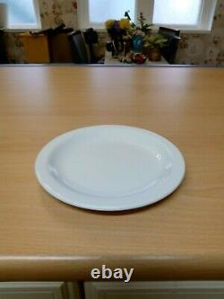 Churchill Hotelware, white plates, soup bowls, cups, saucers and small plates