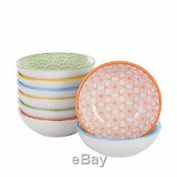 Colourful Dinner Set Ceramic Porcelain Crockery Dinning Set Plates Bowls Mugs