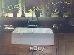 Double Bowl Belfast Butler Sink 10+wastes, Rak Ceramics, Rangemaster, Caple, Astini