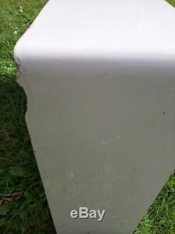 Double Bowl Belfast Ceramic Sink White