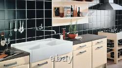 Double-bowl butler sink by Villeroy & Boch