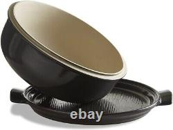 Emile Henry Bread Cloche Charcoal