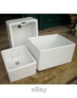 Farm House Double Bowl Ceramic Kitchen Sink 800mm