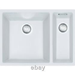 Franke Sirius Sid 160 1.5 Bowl Tectonite White Polar Undermount Kitchen Sink New