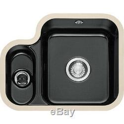 Franke Um Ceramic Sink Lh Small Bowl Bk 6702gojo 126.0066.532 Vbk160bk