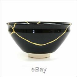 JAPANESE ORIGINAL UNIQUE KINTSUGI chawan bowl porcelain ceramic RARE