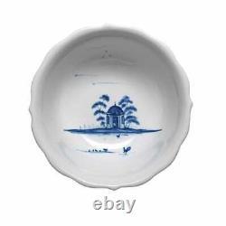 JULISKA Country Estate Delft Blue Cereal/Ice Cream Bowl Hen House Set of 4