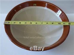 Japanese 12D Ceramic Mortar SURIBACHI Bowl /Made in Japan