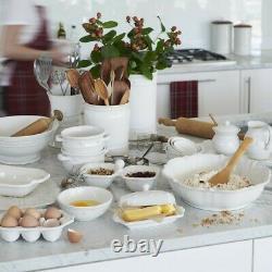 Juliska Berry & Thread Whitewash Mixing Bowls Set/3