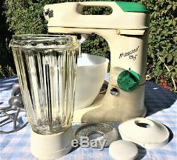 KENWOOD CHEF Late 1950s A700D. Owned by one family from new, with Liquidiser etc