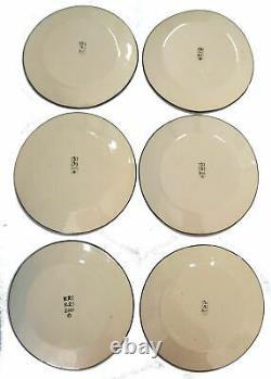 KRI KRI Vintage 24 pc Dinnerware Set Dinner and Salad Plates Bowls Mugs SIGNED