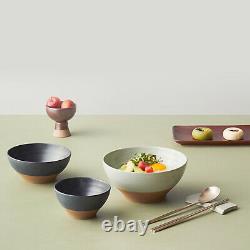 KWANGJUYO Danji Series Black Set For 2people 9P Ceramic Korea
