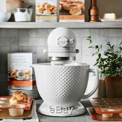 KitchenAid Artisan Stand Mixer with 5qt Ceramic Hobnail Bowl