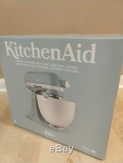 KitchenAid Limited Edition Heritage Artisan Series with Ceramic Hobnail Bowl