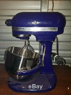 Kitchenaid Classic Heavy Duty Stand Mixer, Blue/Purple