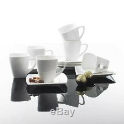 MALACASA Blance 60PCS Ceramic Porcelain Dinner Dinnerware Set Plate Bowls Mugs