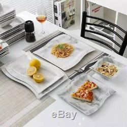 MALACASA FLORA 26X Ceramic Porcelain Dinner Set Plates Bowls Cups Home Tableware