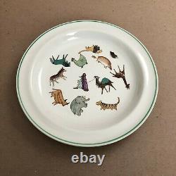 MCM Arabia Finland Zoo Parade of Animals 8 plates 8 bowls 4 mugs Anja Juurikkala