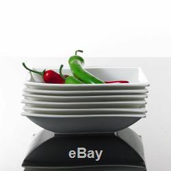 Malacasa Flora 42X Porcelain Dinner Set Dessert Soup Plate Cups Saucer Bowls UK