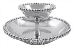 Mariposa Pearled Tiered Chip & Dip