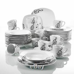 Modern Kitchen Dinnerware Dinner Set Plates Bowl Cup Crockery Dining Service Set