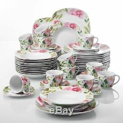 Modern Kitchen Dinnerware Dinner Set Serving Plates Bowls Tableware Dining Set