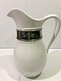NEW 128 Oz Pitcher Tuscan by ARTE ITALICA Made in Italy