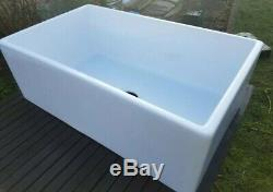NEW LARGE Belfast Kitchen Sink, Single Bowl, RRP £495. Traditional Farmhouse