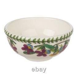 NEW Portmeirion Botanic Garden Fruit Salad Bowl Set 6pce