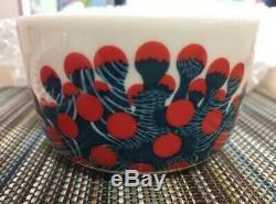 NEW RARE! Marimekko OIVA MERIVUOKKO Mug Cup Bowl Round Plate Set F/S