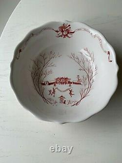 NWT NEW JULISKA Country Estate Winter Frolic Ruby 10 Serving Bowl