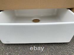 New Villeroy Bosch Franke VBK 710 Kitchen Sink Single bowl white ceramic INC VAT