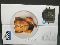 Ninja Foodi TenderCrisp 8-in-1 6.5-Quart Pressure Cooker Black OP300 (New!)