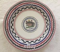 Palio di Siena Contrade Charger Plate, Porcupine