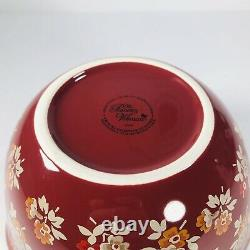 Pioneer Woman Timeless Floral Wavy Nesting Mixing Bowl 3 Piece Set Harvest RARE