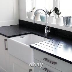 RAK Ceramic Belfast 1.0 Bowl Kitchen Sink White (SINK ONLY)
