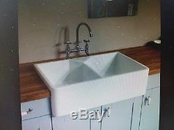 Rak 2 Bowl Double Belfast Butler Gourmet Sink 10. Rak/ Rangemaster/caple/astini