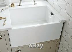 Rangemaster Farmhouse Belfast CFBL595WH Single Bowl Sink 565.62.701 (Hafele)