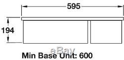 Rangemaster Rustique 1.5 Bowl Ceramic Undermount Sink CRUB3216